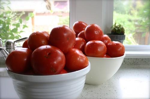 bowl of tomato