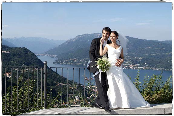 Marriage on Madonna del Sasso Church