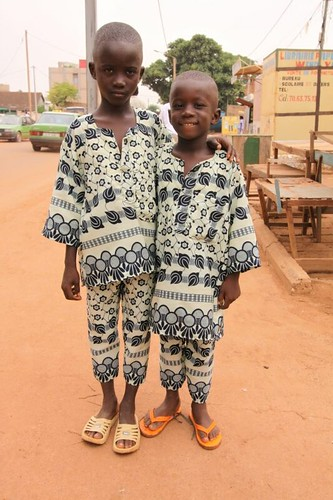 Ouaga kids, dressed up.
