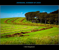 """Anybody can be good in the country"" ~Oscar Wilde (bert.raaphorst) Tags: summer sun rural landscape denmark island countryside oscarwilde vivid langeland vividcolours coth bej islandoflangeland refugeforstressedcitylife"