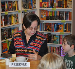 Adèle Geras at RazmaReads