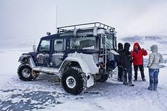 Iceland Glacier (Jason Stevens Photography) Tags: snow ice iceland 4wd glacier adventure hdr