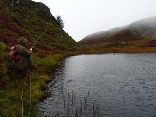 Loch na Curraigh, kilmelford Hill Lochs.Copyright Brian Turner