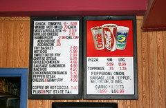 Bowling Cuisine (Brian Aslak) Tags: food usa sign menu words vermont fastfood newengland northamerica snacks bowlingalley grub prices shelburne champlainlanes
