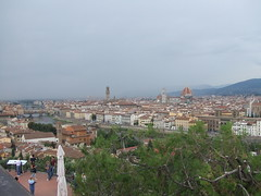 view from piazzale-michelangelo