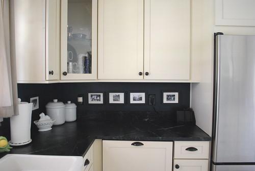 Almost Black Kitchen