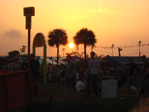 Sunset on Jazz Fest