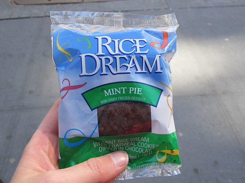 Rice Dream Mint Pie