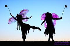 Purple Wings Silhouette wallpaper (gbrummett) Tags: wallpaper az fantasy twig fairies gilbertarizona twigthefairy canonef85mmf12liiusmlens grantbrummett canon5dmarkiidigitalcamera freestoneparkrailroad zinniatheferry