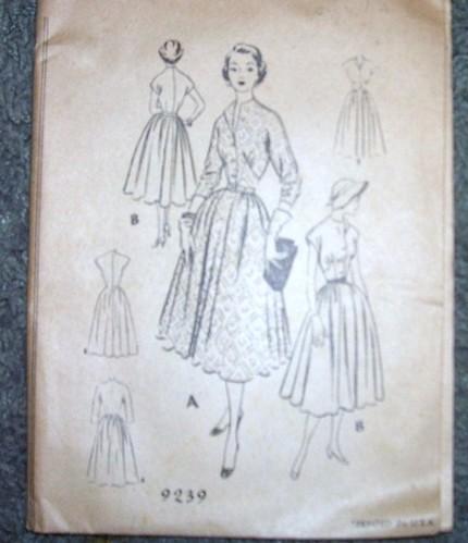 McCalls 9239 vintage pattern