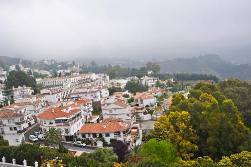 Vistas del pueblo de mijas