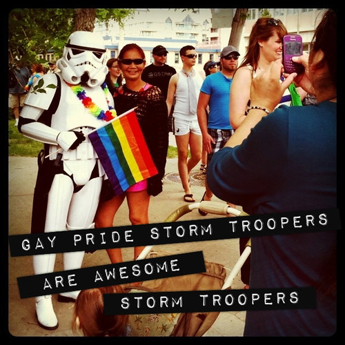 gay pride storm troopers are awesome storm troopers