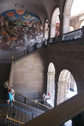 Escaleras nacionales by FotoMimo