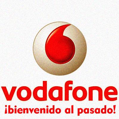 Vodafone: Bienvenido al pasado