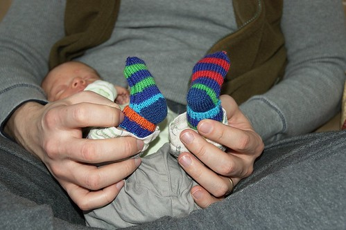 Fuzzy Thoughts Baby Mitten Socks