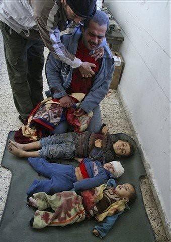 palestinan Family
