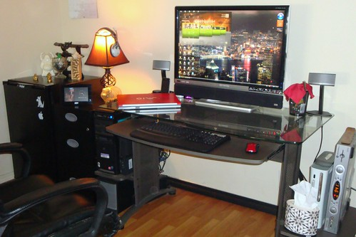 2560x1600p 30'' Gateway XHD3000 office pc setup with the works;)