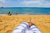 Relax (Shigow) Tags: sea praia beach relax mar sand nikon mine areia perspective victor perspectiva nikkor 18200 horizonte d300 pontodevista relaxamento shigueru shigow