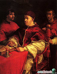 Retrato de Len X de Rafael Sanzio (colealomartes) Tags: uffizi