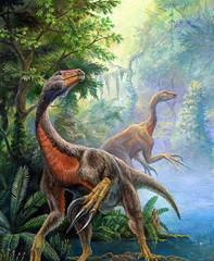 Beipaosaurus según Pavel (wikimedia), no le veo ni penacho ni papada