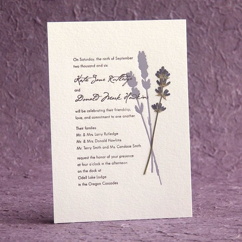 English Lavender Wedding Invitations1