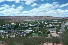 Alice Springs From Memorial (Serendigity) Tags: australia alicesprings pss:opd=1232844323 pss:opd=379647360 serendigity kodachrome 35mm slide film