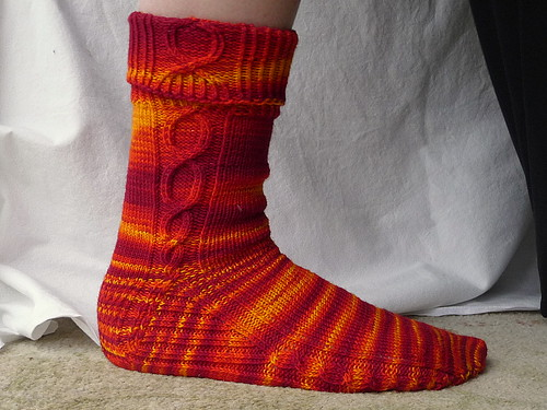 Red Hot Chili - Sock #1