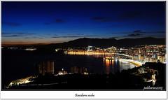 Benidorm (Pablo Arias) Tags: espaa naturaleza nature mar nocturna benidorm panormica visiongroup nikond300 oltusfotos