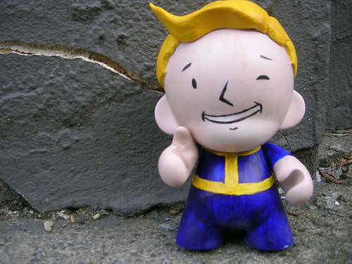 Vault Boy Mini Munny
