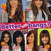 Better with bangs? - Miley Cyrus, Demi Lovato, and Vanessa Hudgens - Scan