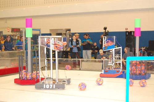 robotics season of the first invitational tournament.