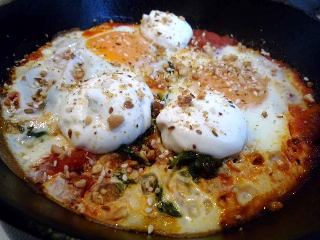 Turkish baked eggs