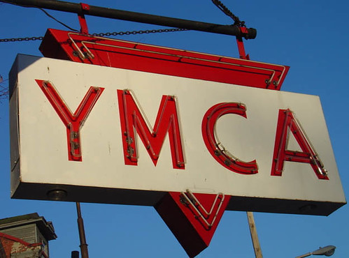 YMCA sign pic