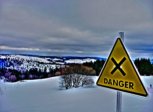 attention croisement de pistes