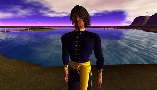 Capt. Beaumont exploring the shores of the OSGrid