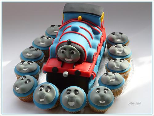 Gordon 3 D cake