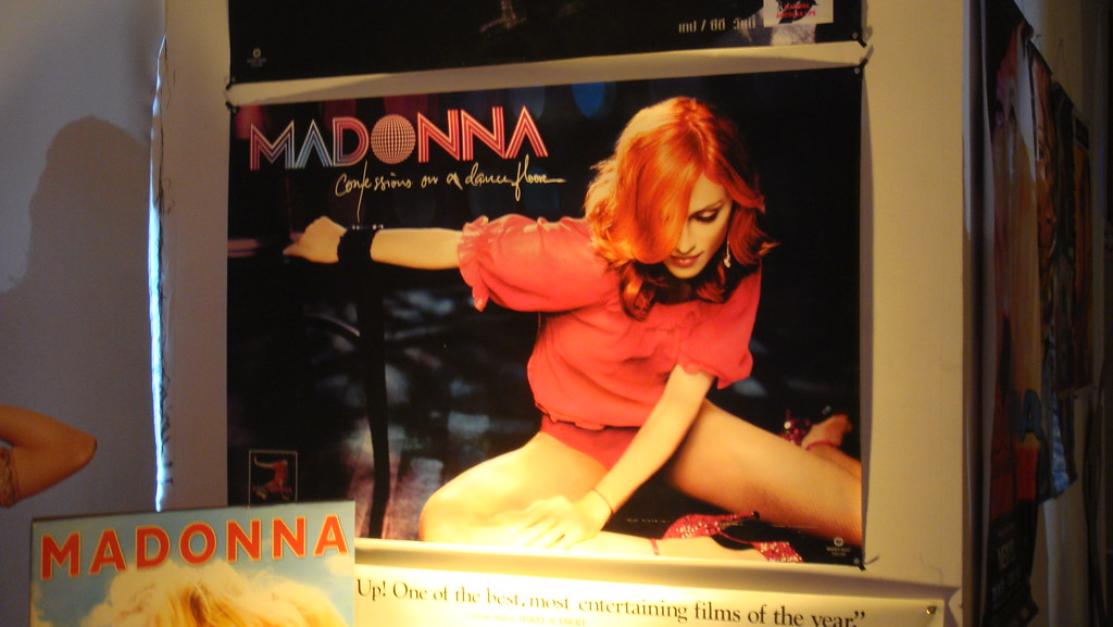 Confessions on a dance floor poster