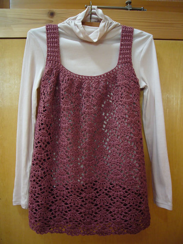 lacy tunic