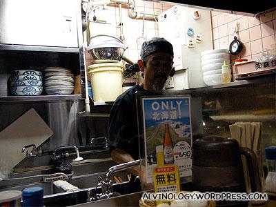 The ramen chef