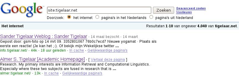 site:tigelaar.net