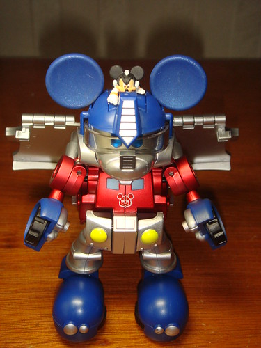 Transformers Mickey Mouse robot