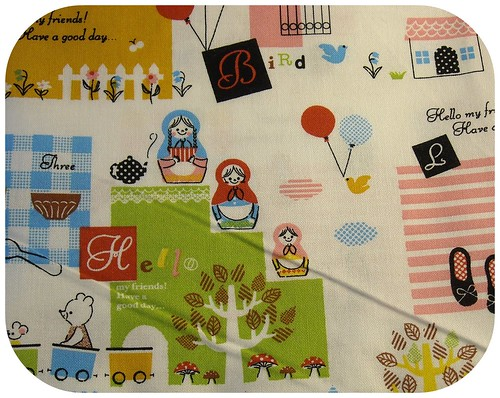 super cute japanese fabric