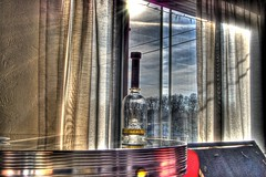 Another Milagro HDR (Dave DiCello) Tags: sunset sky sun blanco window clouds photoshop table mexico nikon cs2 empty tripod tequila agave nikkor patron milagro josecuervo 18mm cabowabo donjulio reposado photomatix d40 tonemapped anejo d40x tequilajpg evad310 davedicello