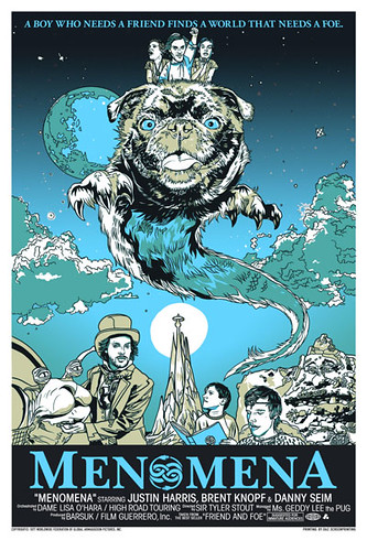 Tyler Stout Menomena Never Ending Story 3 Colors June 2007 16 x 24 #4 of 400