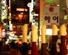 Myeong dong, Seoul (ShanLuPhoto) Tags: street travel shopping lights seoul southkorea   myeongdong  mannequinlegs myongdong republicofkorea   loolooimage