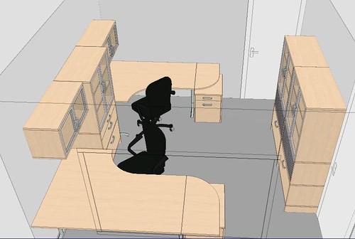 two person office layout. Two Person Office Layout