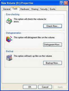 Procedure to check if your Hard Drive (Hard disc) has any Bad sector