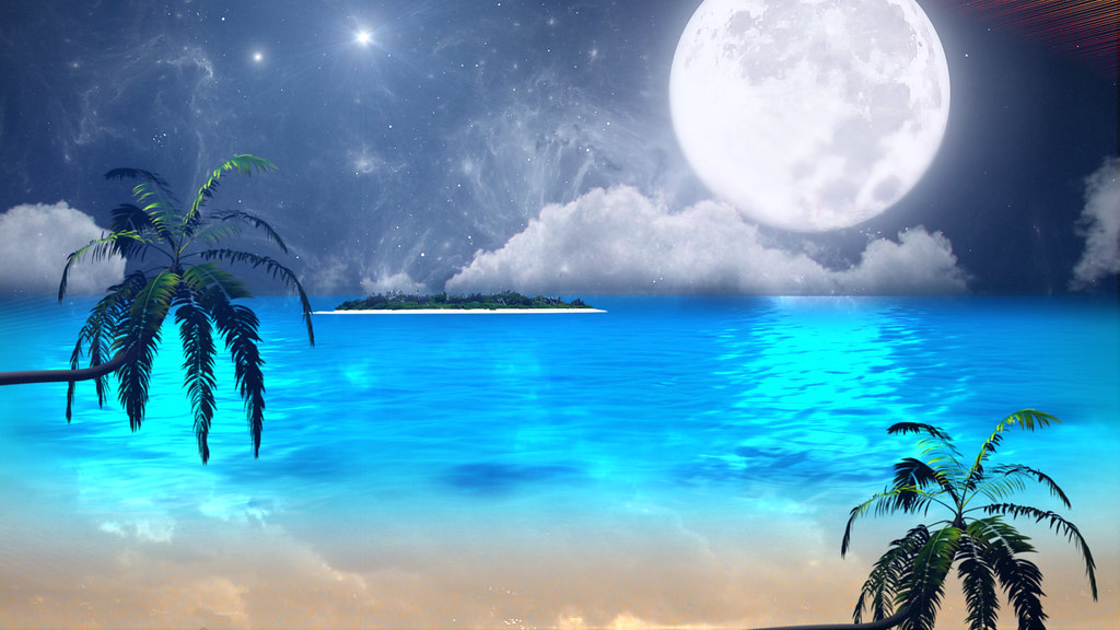 Relaxing wallpaper - beach ocean (Infinite Tranquility) Tags: ocean wallpaper beach dvd relaxing