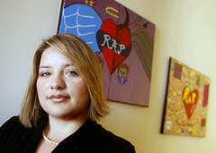 Tatiana Colon, Chair of the Alameda Task Force on Teen Dating Violence (Contra Costa Times photo)