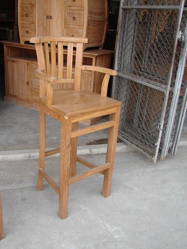 Picture 209 Teak bar stool